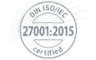 DIN ISO/IEC 27001:2015 Certificate for Knipp